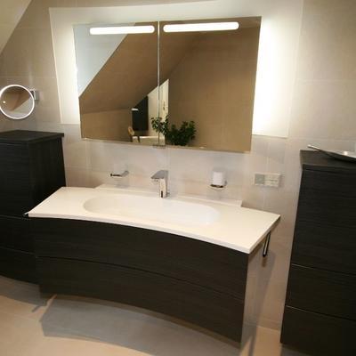 Badezimmersanierung 2013 (Burgbad, Hansgrohe, Keuco)